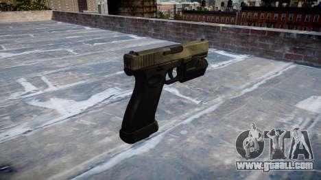 Pistol Glock 20 a tac au for GTA 4 second screenshot