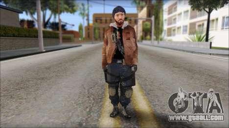 Division Skin for GTA San Andreas