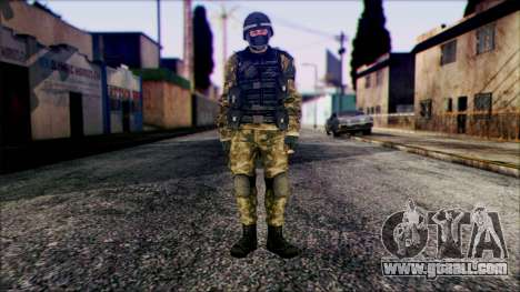 Soldier from Prototype 2 for GTA San Andreas