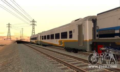 K1 Argo Traincar Indonesian for GTA San Andreas