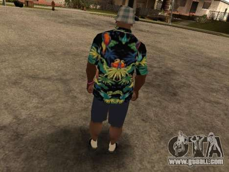 Hawaiian shirt like max Payne for GTA San Andreas fifth screenshot
