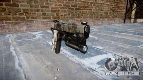 Gun Kimber 1911 Ghotex for GTA 4