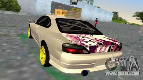 Nissan Silvia S15 TUNING JDM for GTA Vice City right view