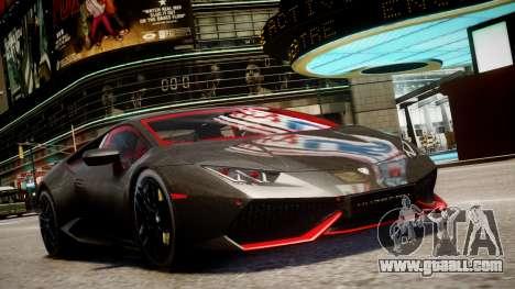 Lamborghini Huracan LP610-4 SuperTrofeo for GTA 4 back left view