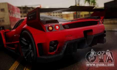 Ferrari Gemballa MIG-U1 for GTA San Andreas inner view