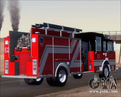 Pierce Arrow XT TFD Engine 2 for GTA San Andreas back left view