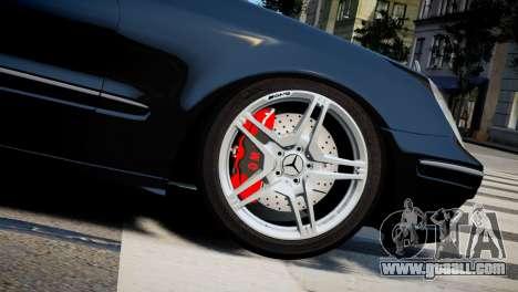 Mercedes-Benz E320 for GTA 4 right view