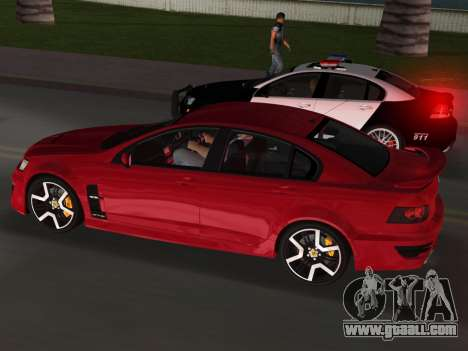 Holden HSV GTS 2011 for GTA Vice City