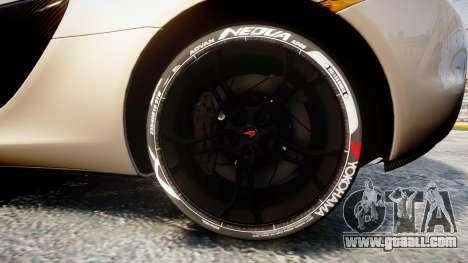 McLaren 650S Spider 2014 [EPM] Yokohama ADVAN v1 for GTA 4 back view