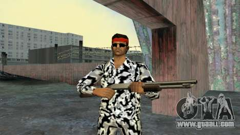 Camo Skin 05 for GTA Vice City