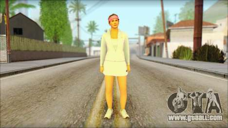 Amanda De Santa for GTA San Andreas