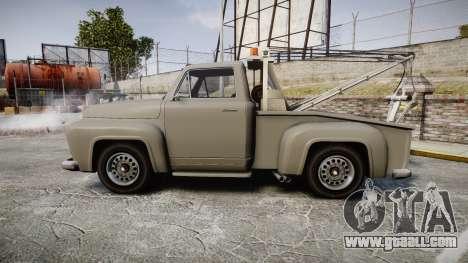 Vapid Tow Truck Jackrabbit for GTA 4 left view