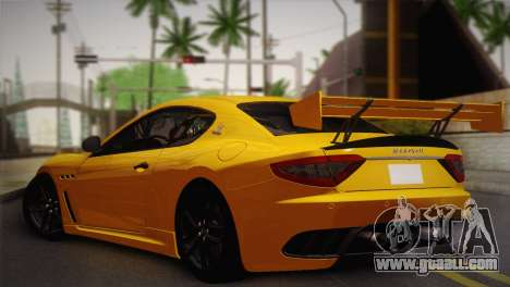 Maserati Gran Turismo MC Stradale for GTA San Andreas left view