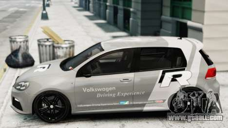 Volkswagen Golf R 2010 Driving Experience for GTA 4 back left view