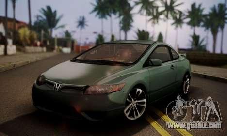 Honda Civic SI 2006 for GTA San Andreas