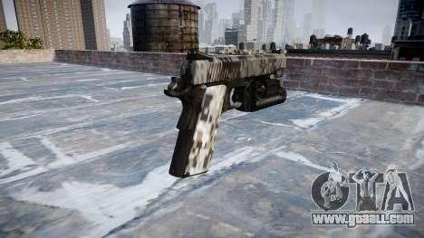 Gun Kimber 1911 Ghotex for GTA 4 second screenshot