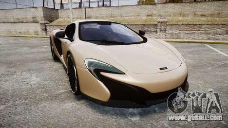 McLaren 650S Spider 2014 [EPM] Yokohama ADVAN v2 for GTA 4