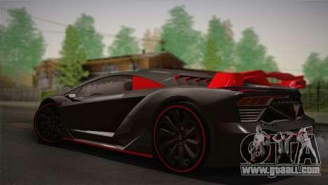 GTA 5 Zentorno (IVF) for GTA San Andreas left view