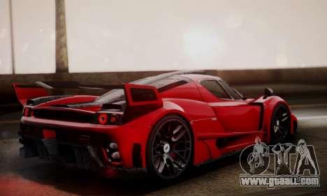 Ferrari Gemballa MIG-U1 for GTA San Andreas left view