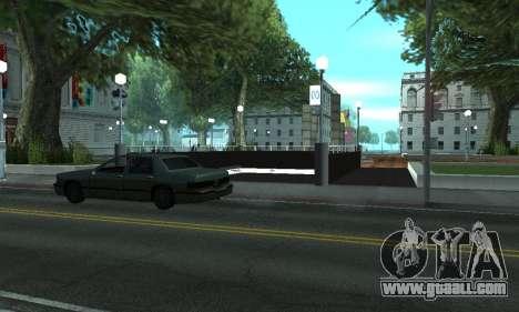 A new metro station in San Fierro for GTA San Andreas third screenshot