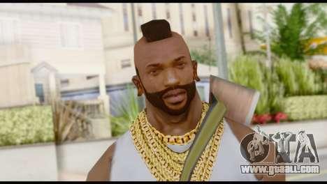 MR T Skin v6 for GTA San Andreas third screenshot
