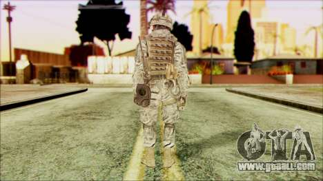 Ranger (CoD: MW2) v5 for GTA San Andreas second screenshot