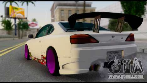 Nissan Silva S15 Turkish Drift for GTA San Andreas left view