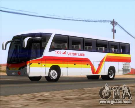 Marcopolo Paradiso G7 VictoryLiner 1829 for GTA San Andreas left view