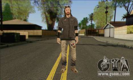 Raymond Kenney from Watch Dogs for GTA San Andreas