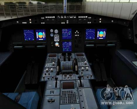 Airbus A330-300P2F Federal Express for GTA San Andreas interior