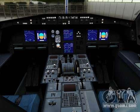 Airbus A330-300P2F Federal Express for GTA San Andreas interior