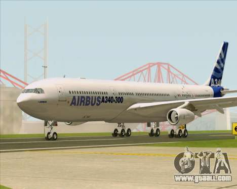 Airbus A340-311 House Colors for GTA San Andreas inner view