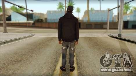 New Grove Street Family Skin v2 for GTA San Andreas second screenshot
