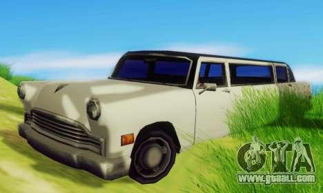 Cabbie Limousine for GTA San Andreas