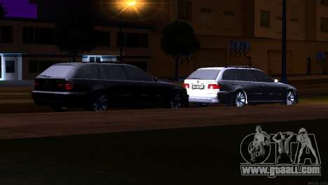 BMW 530d for GTA San Andreas side view