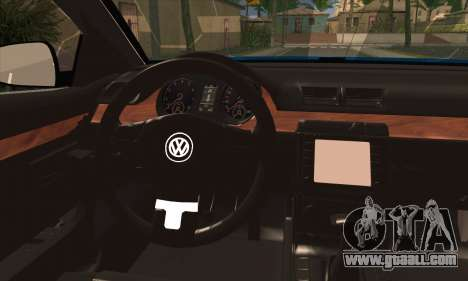Volkswagen Passat CC Polizei 2013 v1.0 for GTA San Andreas back left view