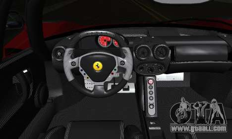 Ferrari Gemballa MIG-U1 for GTA San Andreas bottom view
