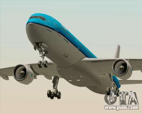 Airbus A330-300 KLM Royal Dutch Airlines for GTA San Andreas left view