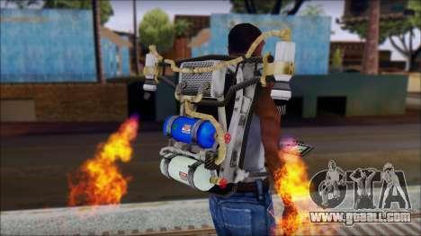 New Jetpack for GTA San Andreas second screenshot