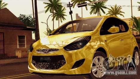 Hyundai IX20 2011 for GTA San Andreas