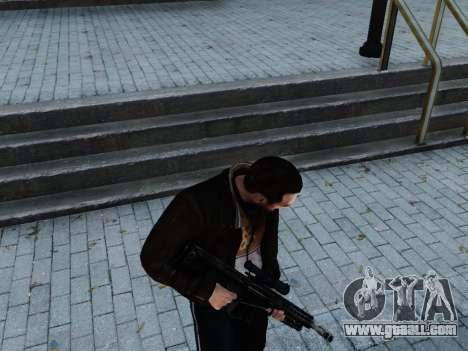 Barrett M107CQ for GTA 4 third screenshot
