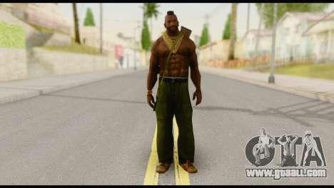 MR T Skin v5 for GTA San Andreas