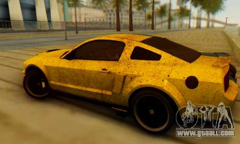 Ford Mustang Shelby Terlingua 2008 UA PJ for GTA San Andreas left view