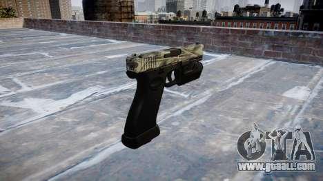 Pistol Glock 20 benjamins for GTA 4 second screenshot