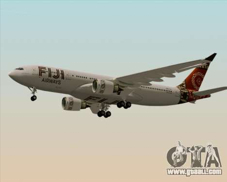 Airbus A330-200 Fiji Airways for GTA San Andreas engine