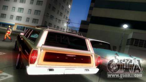 Ford Country Squire for GTA Vice City inner view