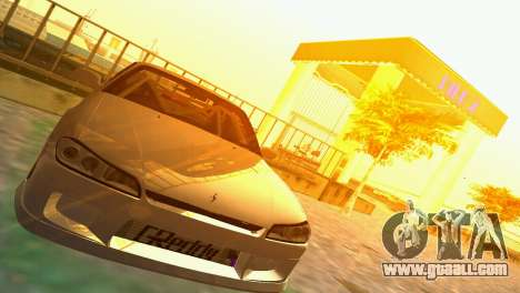Nissan Silvia S15 TUNING JDM for GTA Vice City back left view