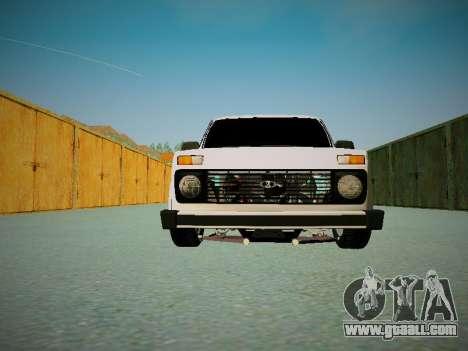 VAZ 2121 for GTA San Andreas inner view