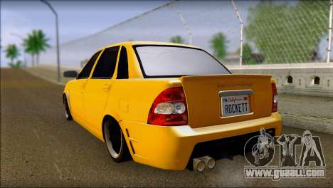 Lada 2170 Priora Hennessey Performance for GTA San Andreas left view