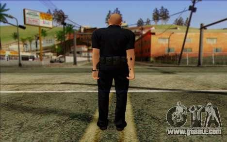 Police (GTA 5) Skin 2 for GTA San Andreas second screenshot